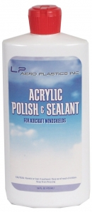 LP Aero Plastics Acrylic Polish and Sealant - bottle